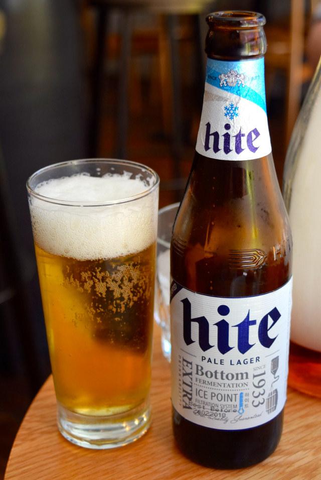 Hite Beer at Bo Drake, Soho   www.rachelphipps.com @rachelphipps