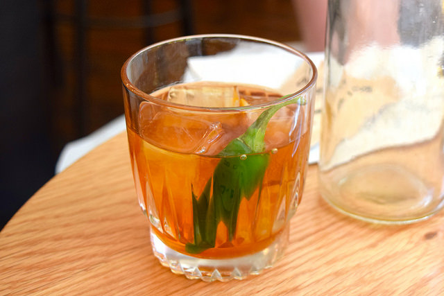 Smoked Whisky Cocktail at Bo Drake, Soho | www.rachelphipps.com @rachelphipps