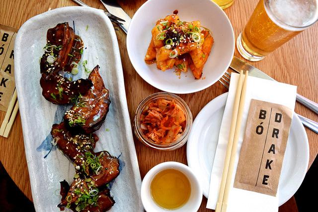 Lunch at Bo Drake, Soho   www.rachelphipps.com @rachelphipps