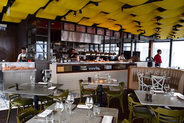 Dining Room at Duck and Waffle | www.rachelphipps.com @rachelphipps