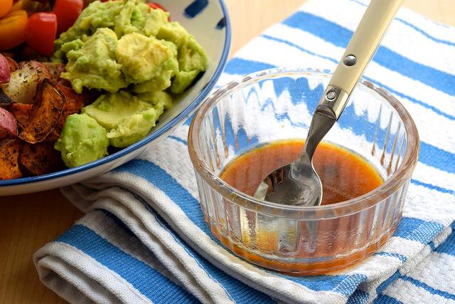 Smoked Chilli & Lime Dressing | www.rachelphipps.com @rachelphipps