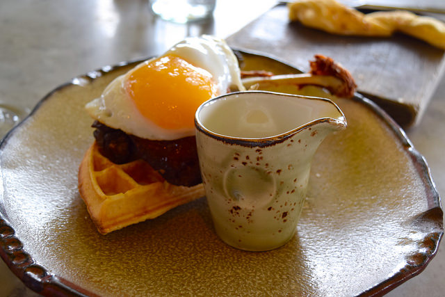 Signature Duck and Waffle at Duck and Waffle | www.rachelphipps.com @rachelphipps