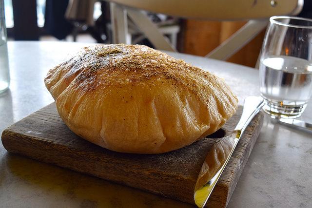 House Spiced Bread at Duck and Waffle | www.rachelphipps.com @rachelphipps