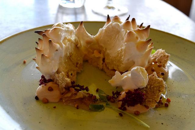 Baked Alaska at Duck and Waffle | www.rachelphipps.com @rachelphipps