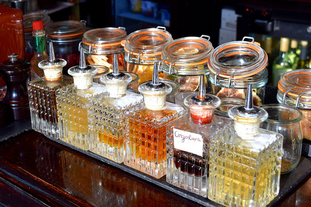 Homemade Bitters at The Gun, Docklands | www.rachelphipps.com @rachelphipps