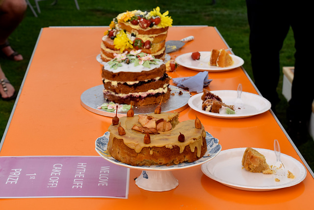 Cake Off  at We Love Hythe Food Festival | www.rachelphipps.com @rachelphipps