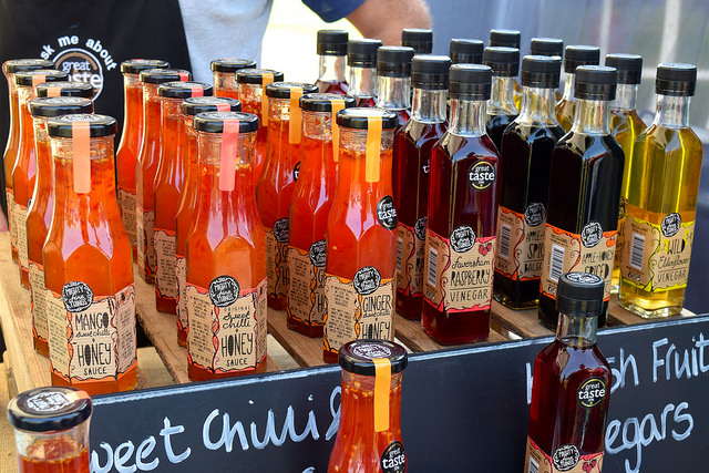 Sauces from Mighty Fine Things at We Love Hythe Food Festival | www.rachelphipps.com @rachelphipps