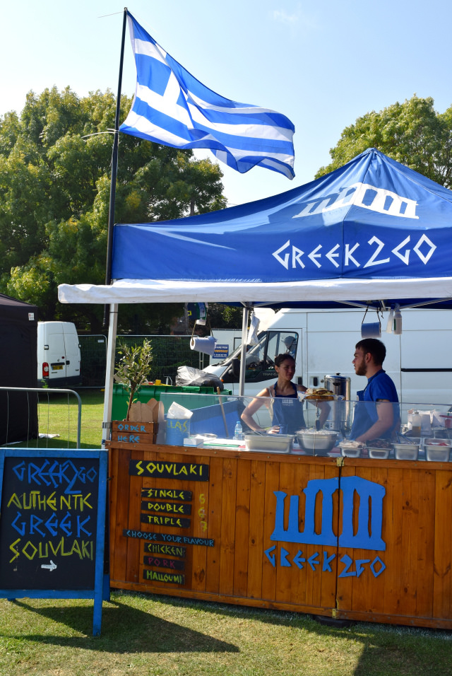 Greek 2 Go at We Love Hythe Food Festival | www.rachelphipps.com @rachelphipps