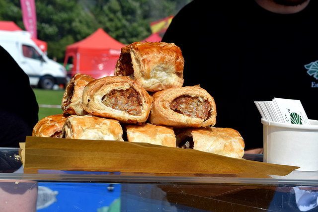 Pork & Co. Sausage Rolls at We Love Hythe Food Festival | www.rachelphipps.com @rachelphipps