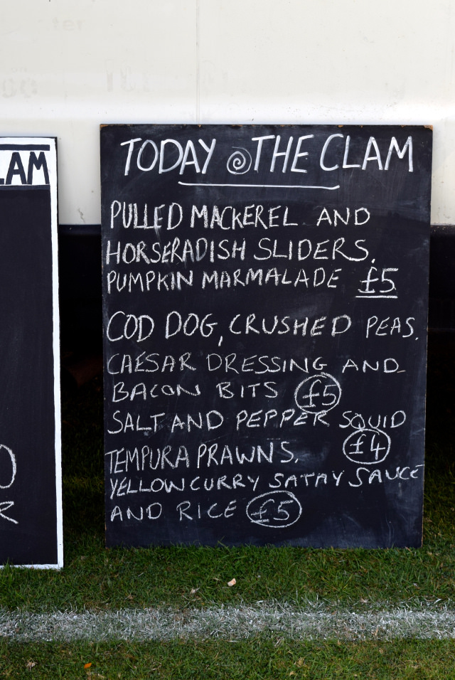 The Clam Menu at Love Hythe Food Festival | www.rachelphipps.com @rachelphipps