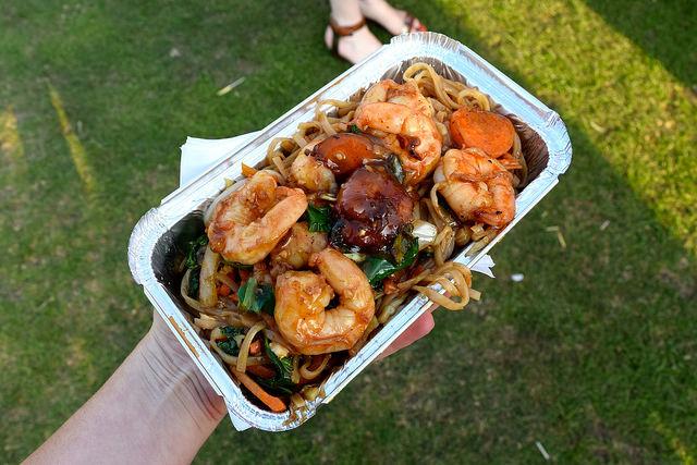 Pad Thai at We Love Hythe Food Festival | www.rachelphipps.com @rachelphipps
