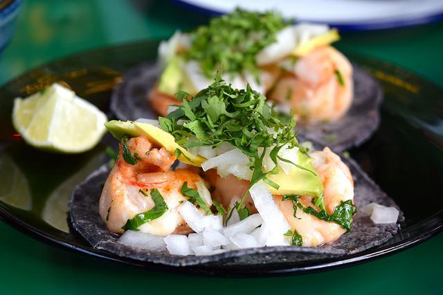 Prawn Tacos at El Pastor, Borough Market | www.rachelphipps.com @rachelphipps