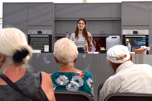 Cooking at We Love Hythe Food Festival | www.rachelphipps.com @rachelphipps