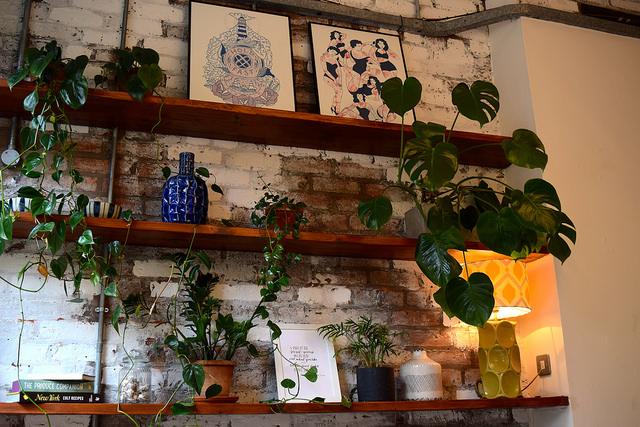 Interiors at Evelyn's, Manchester | www.rachelphipps.com @rachelphipps