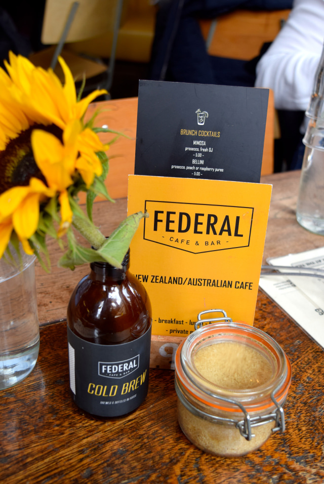Brunch Menu at Federal Bar & Cafe, Manchester | www.rachelphipps.com @rachelphipps