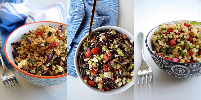 Autumn Lunchbox Grain Bowls | www.rachelphipps.com @rachelphipps