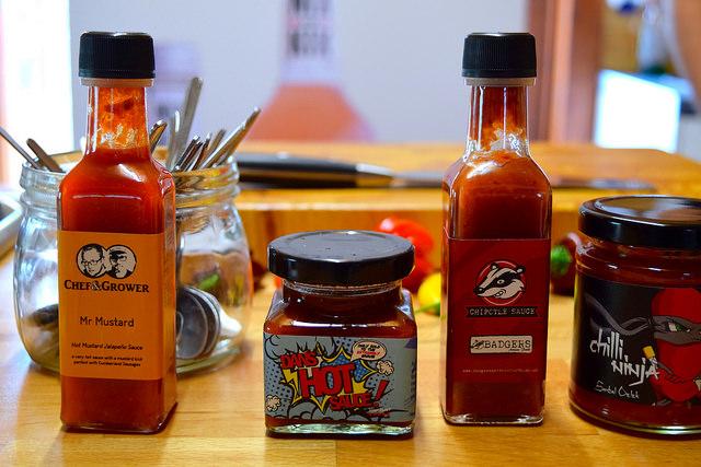 Hot Sauces at Edible Ornamentals, Bedfordshire | www.rachelphipps.com @rachelphipps