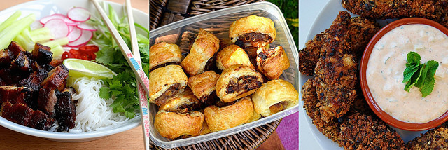 Meaty Autumn Lunchbox Items | www.rachelphipps.com @rachelphipps