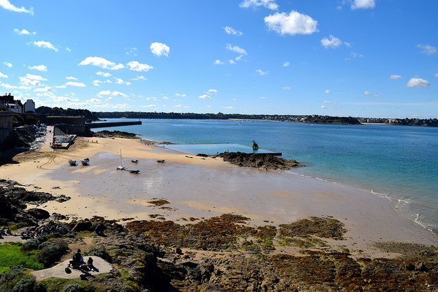 Natural Swimming Pool in St. Malo, Brittany | www.rachelphipps.com @rachelphipps