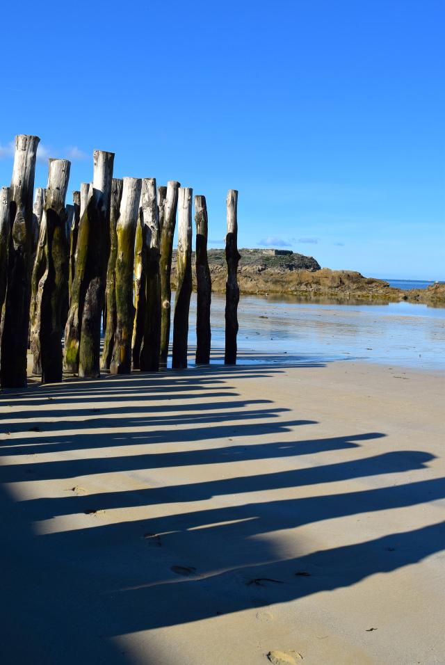 Coastal Defences in St. Malo, Brittany | www.rachelphipps.com @rachelphipps