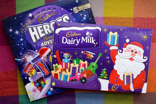 Cadbury's Advent Calendars 2017
