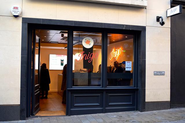 Sushi Hand Roll Takeaway Inigo, Soho #sushi #lunch #london #soho #handrolls | www.rachelphipps.com @rachelphipps