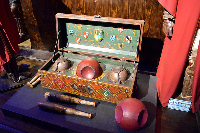 Quidditch Balls at the Harry Potter Studio Tour, London | #harrypotter www.rachelphipps.com @rachelphipps