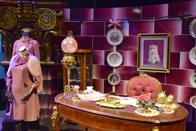 Umbridge's Office at the Harry Potter Studio Tour, London | #harrypotter www.rachelphipps.com @rachelphipps