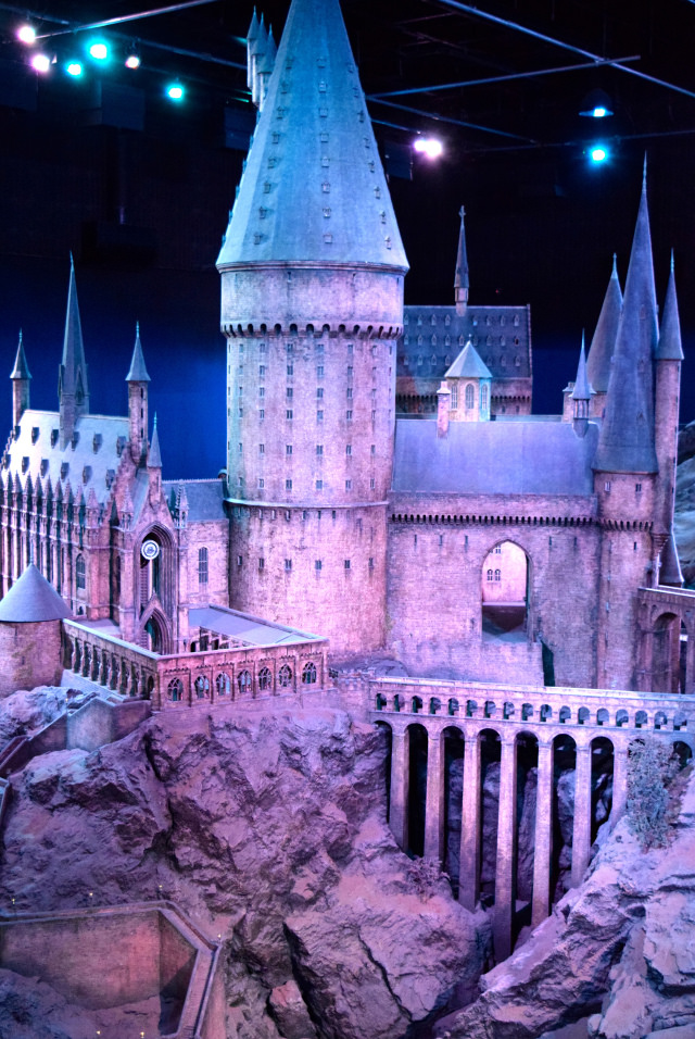 Hogwarts at the Harry Potter Studio Tour, London | #harrypotter www.rachelphipps.com @rachelphipps