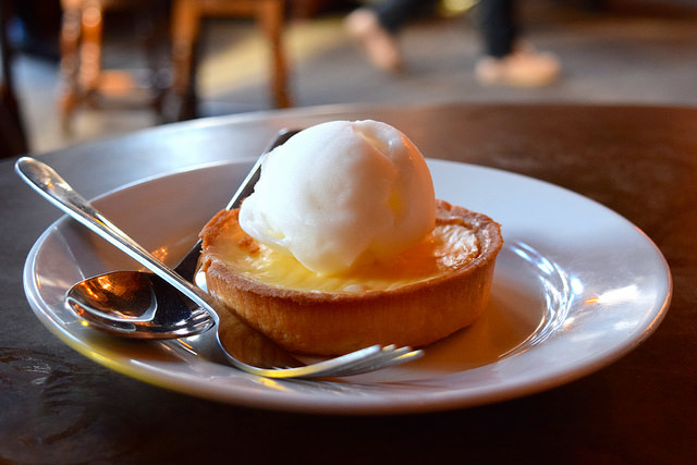 Theresa May Lemon Tart at The Old Queen's Head, Islington | www.rachelphipps.com @rachelphipps