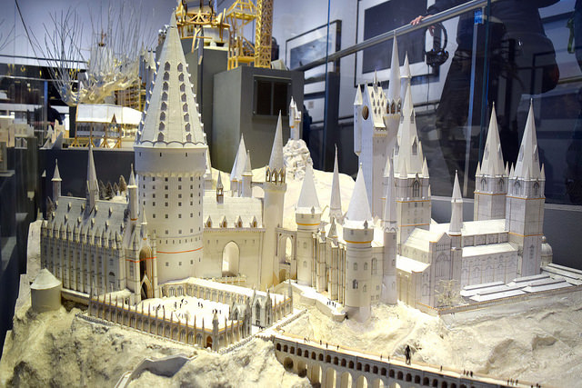 Model of Hogwarts at the Harry Potter Studio Tour, London | #harrypotter www.rachelphipps.com @rachelphipps