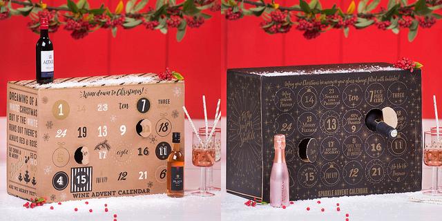 Wine & Prosecco Advent Calendars 2017