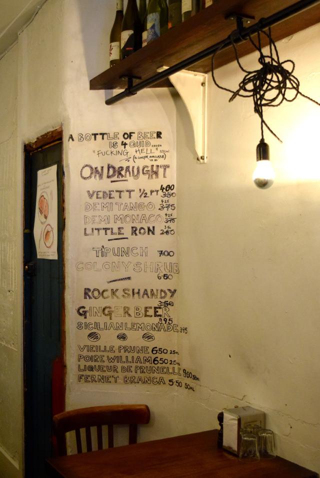 Beer List at DUCKSOUP, Soho | www.rachelphipps.com @rachelphipps