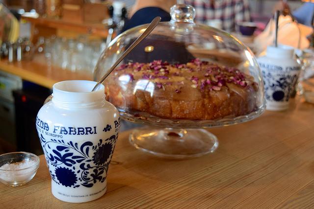 Cakes at Wild Goose, Canterbury #smallplates #wildgoose #thegoodsshed #canterbury | www.rachelphipps.com @rachelphipps