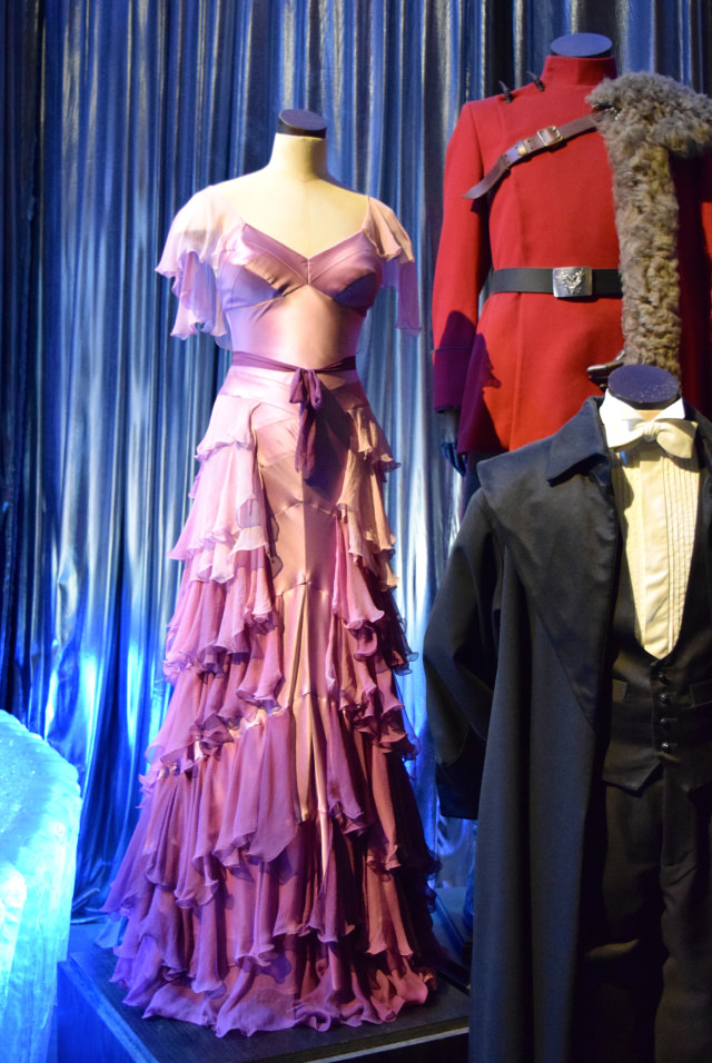 Hermione's Yule Ball Dress at the Harry Potter Studio Tour, London | #harrypotter www.rachelphipps.com @rachelphipps