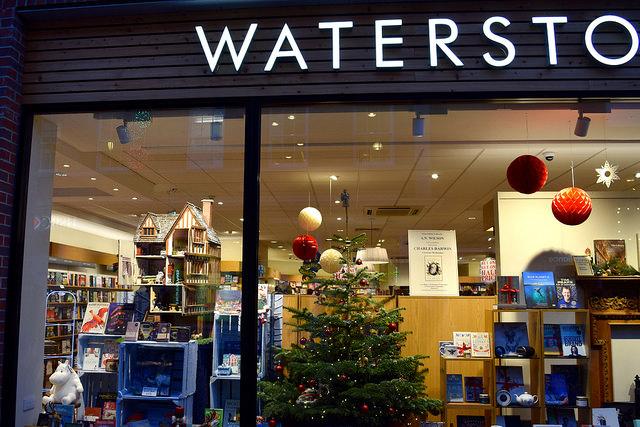 Waterstones Canterbury Christmas #christmas