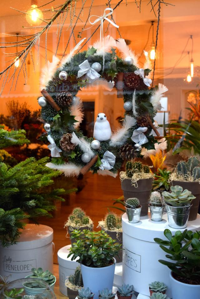 Lady Penelopy's Christmas Windows, Canterbury #christmas