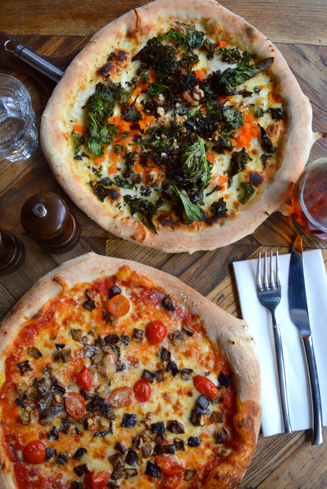 Pizzas at Chapter Canterbury #pizza #canterbury #sourdough