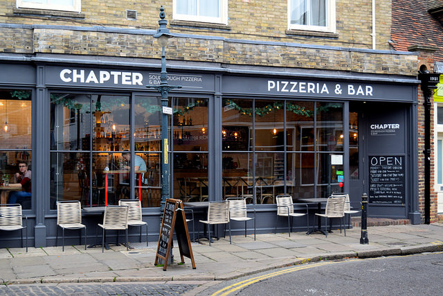 Chapter, Canterbury #pizza #canterbury #sourdough