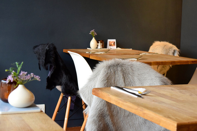 Dining Room at Snaps & Rye, Notting Hill #danish #hygge #london