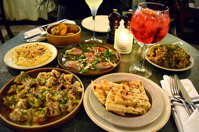 Dinner at Yosma, Marylebone #mezze #marylebone #london