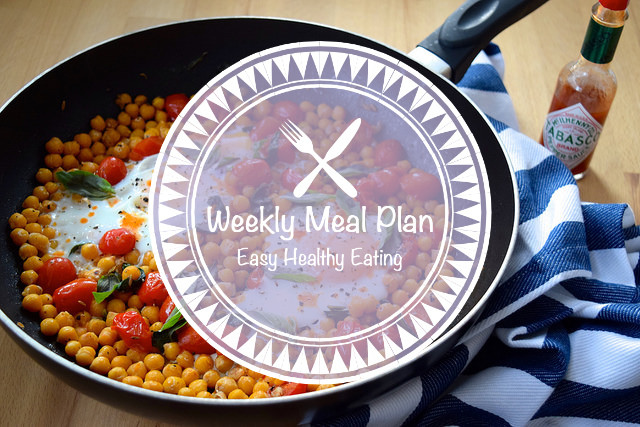 Weekly Meal Plan #1 [Easy Healthy Eating]