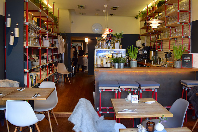 Inside Snaps & Rye, Notting Hill #danish #hygge #london
