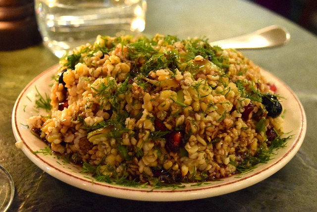 Freekeh Salad at Yosma, Marylebone #mezze #marylebone #london