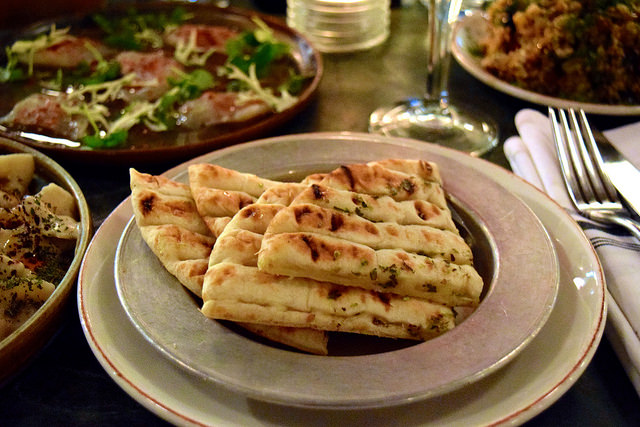 Flatbreads at Yosma, Marylebone #mezze #marylebone #london