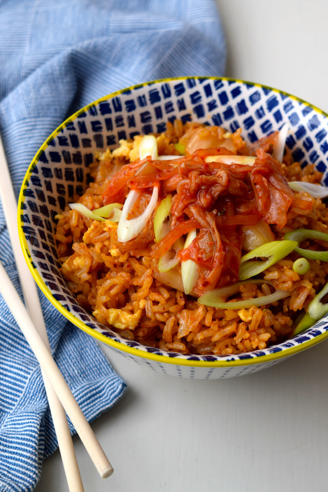 Kimchee Fried Rice #korean #rice #kimchee #friedrice #dinner #weeknight