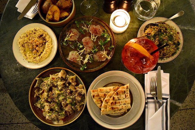 Mezze at Yosma, Marylebone #mezze #marylebone #london