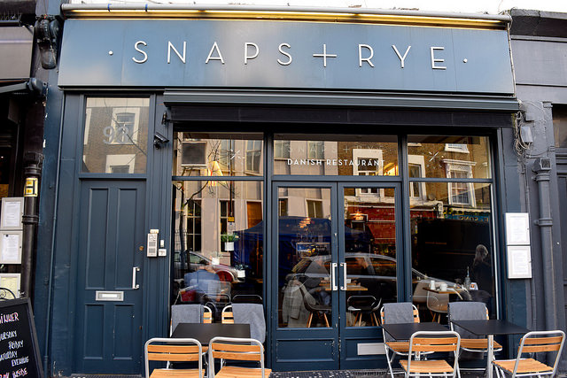 Snaps & Rye, Notting Hill #danish #hygge #london