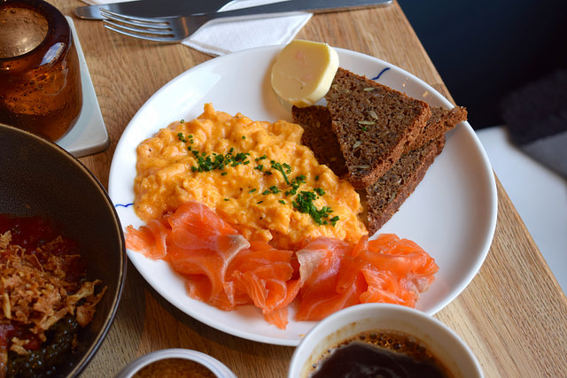 Smoked Salmon Plate at Snaps & Rye, Notting Hill #danish #hygge #london