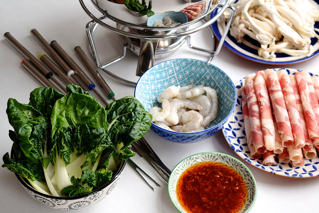 Ingredients for Chinese Hot Pot #hotpot #chinese #chinesenewyear